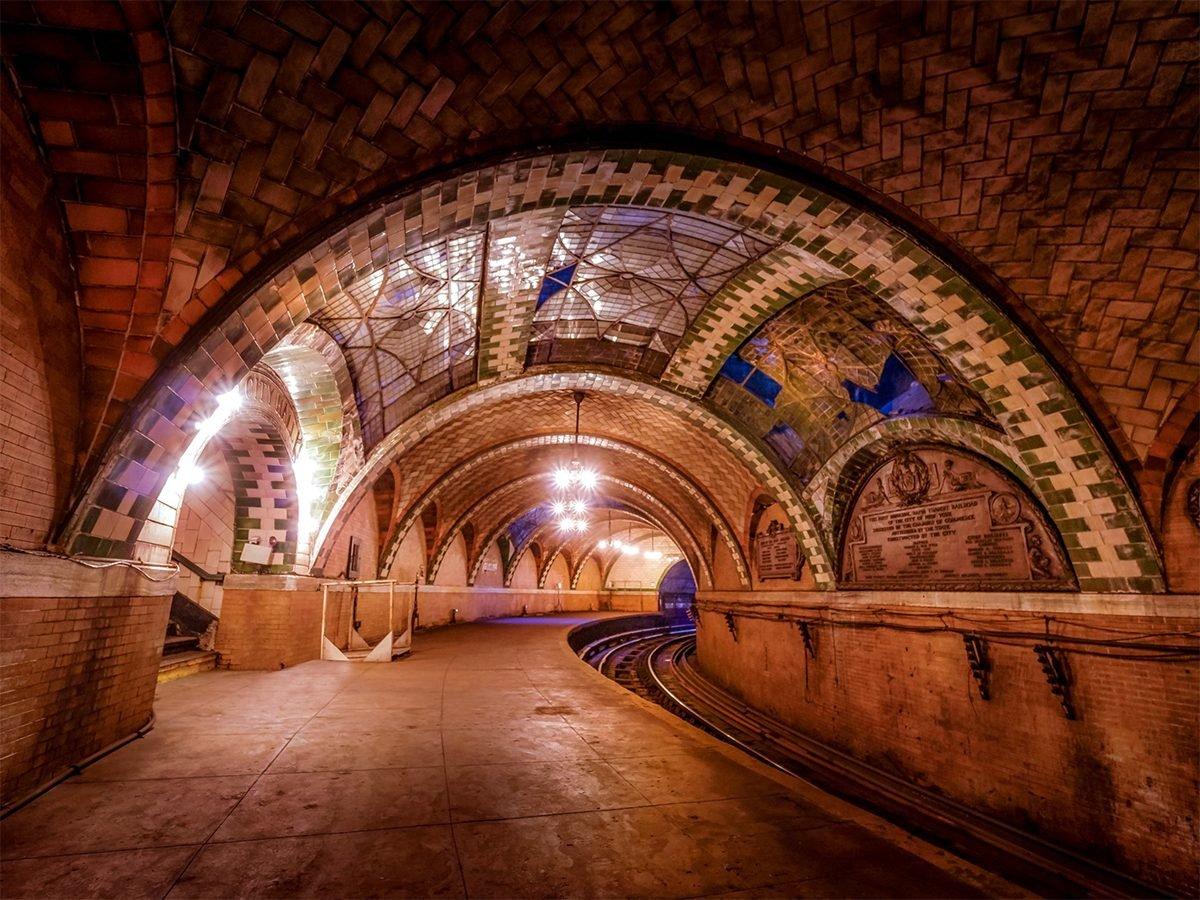City Hall abandoned subway station New York City