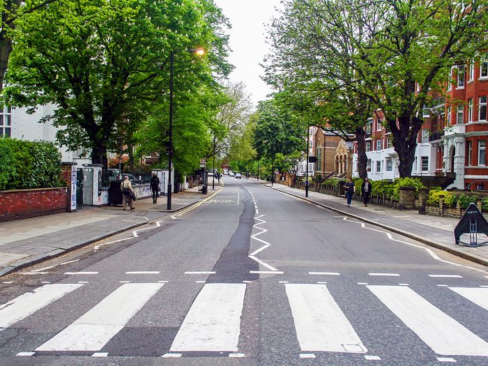 Famous Streets - Abbey Road
