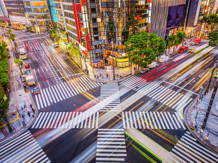 Famous streets - Ginza Tokyo