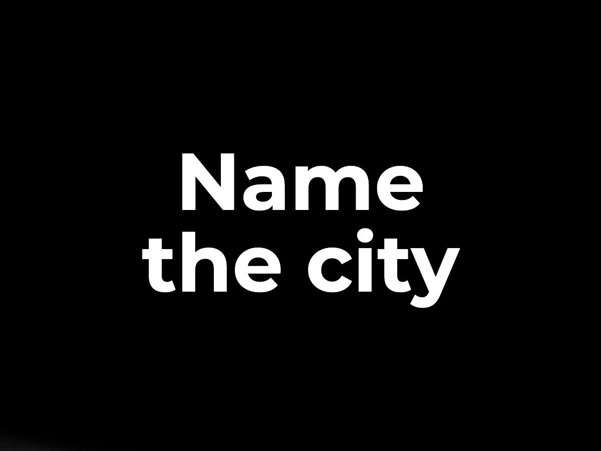 Name the city