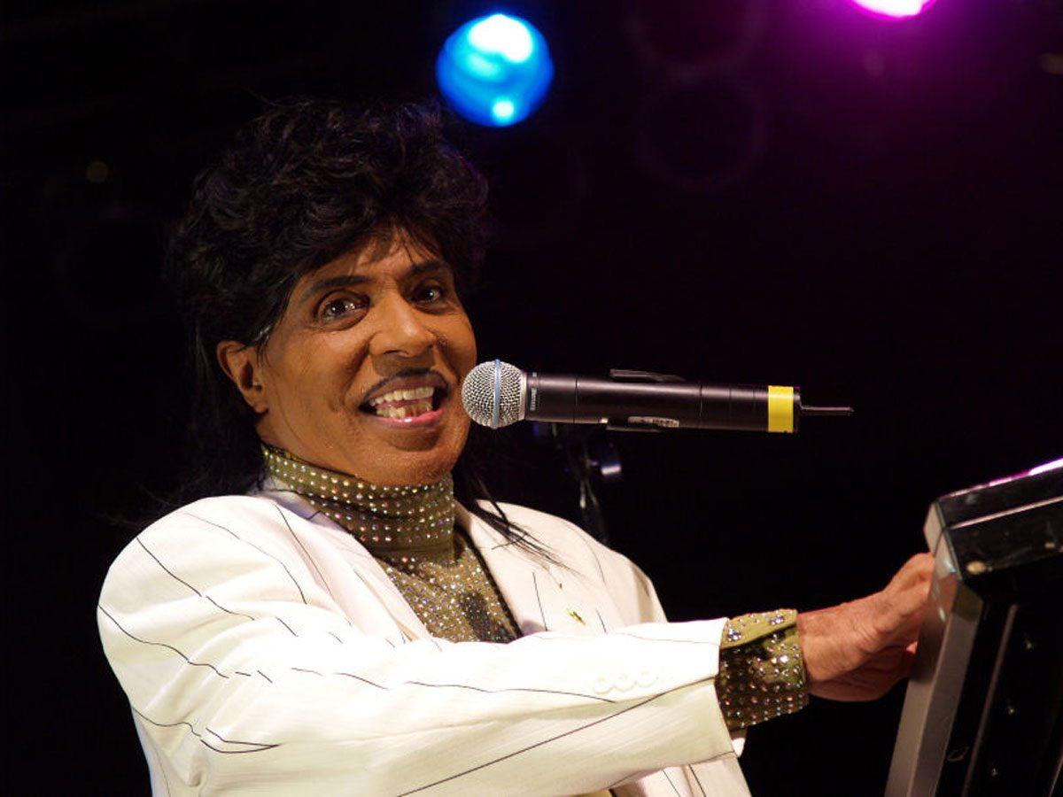 Little Richard in concert in 2007