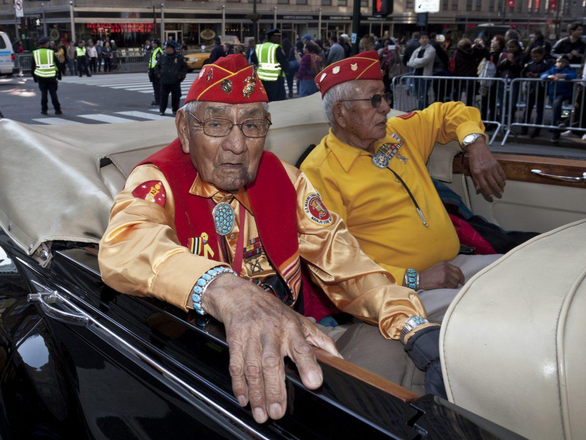 Navajo veterans of the Korean War