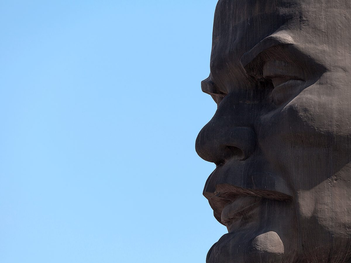 Good news - Lenin statue head