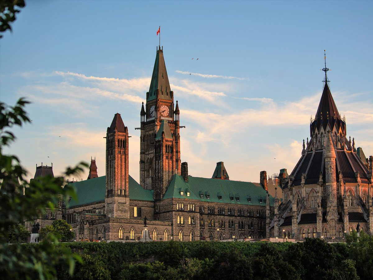 Day trips from Montreal - Parliament Hill