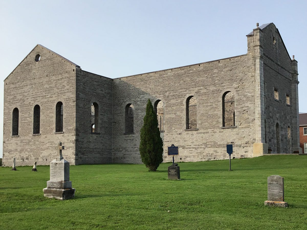 Day trips from Montreal - The St. Raphael Ruins