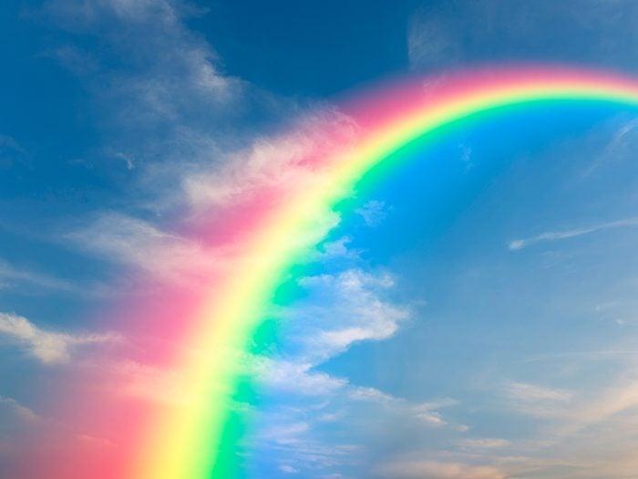 Printable crossword puzzles - rainbow