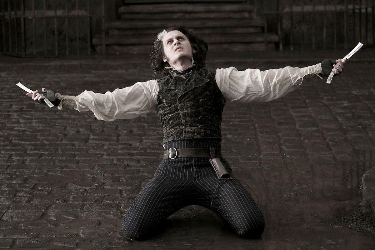 Best scary movies on Netflix - Sweeney Todd: The Demon Barber of Fleet Street