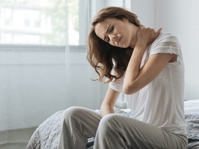 Everyday aches and pains - Woman in pain