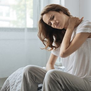 Pain management strategies - Woman in pain