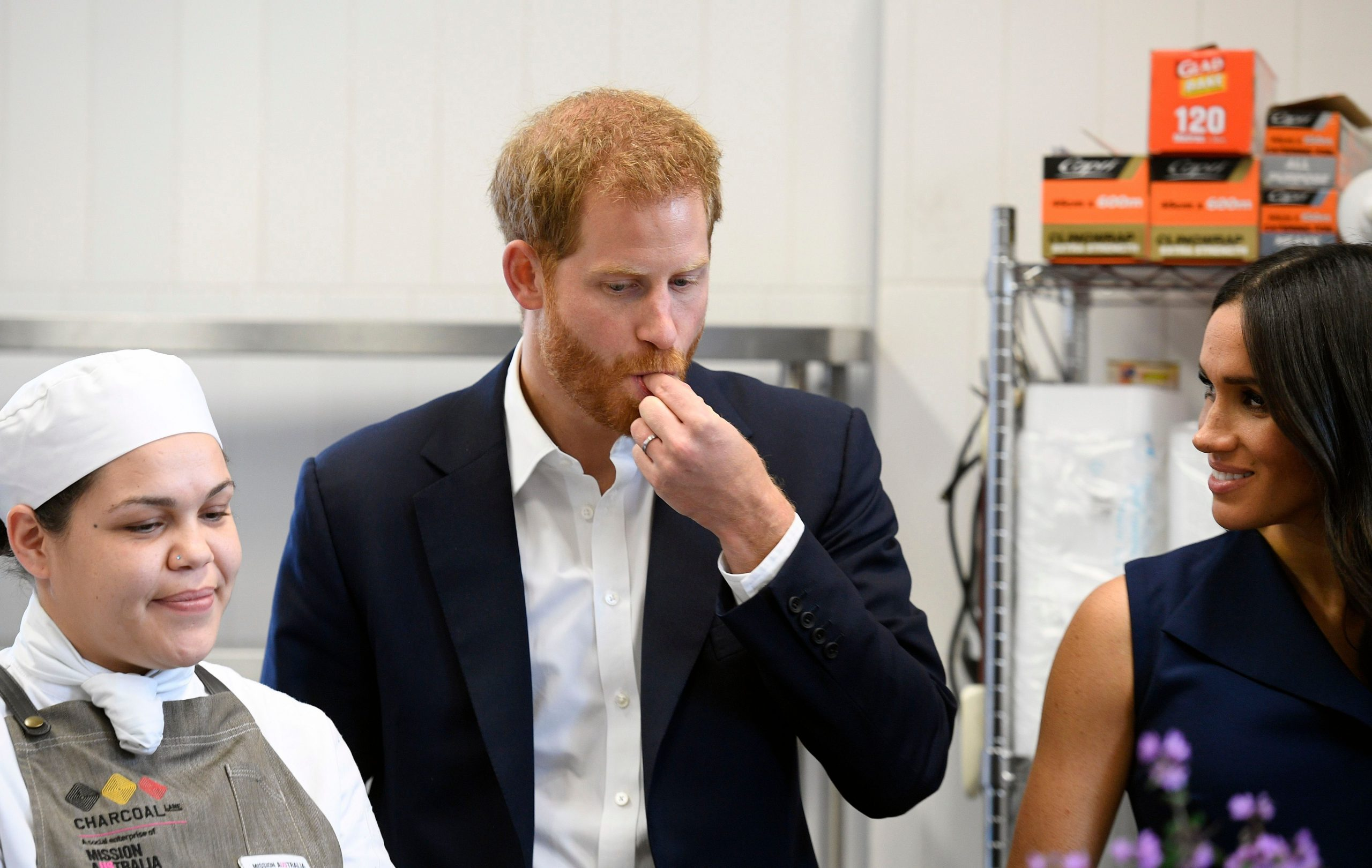 The Duke and Duchess of Sussex tour Australia, Melbourne - 18 Oct 2018