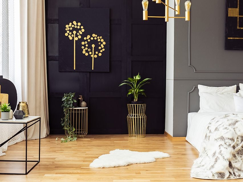Decorate your home according to zodiac sign - leo room