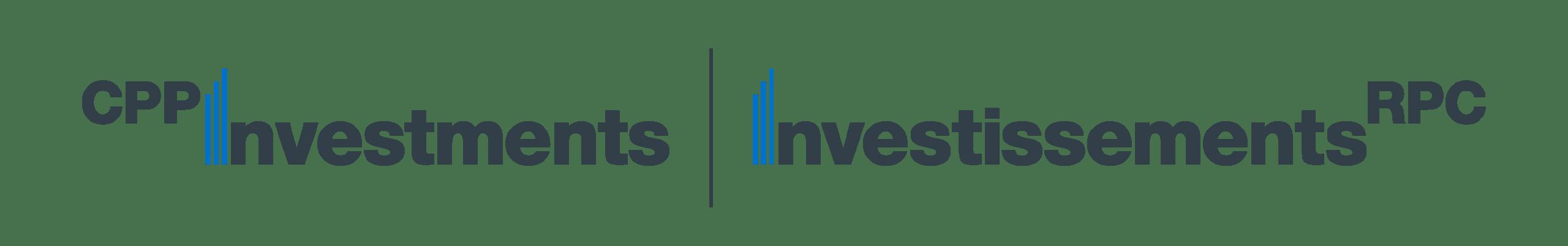 CPP Invest bilingual logo