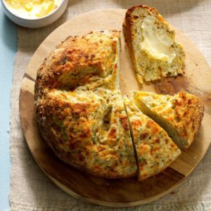 Garlic-Dill Soda Bread