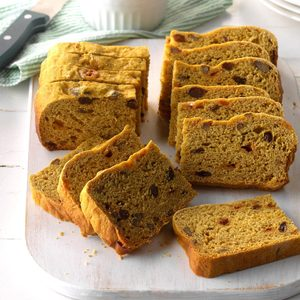 Slow Cooker Pumpkin Yeast Bread