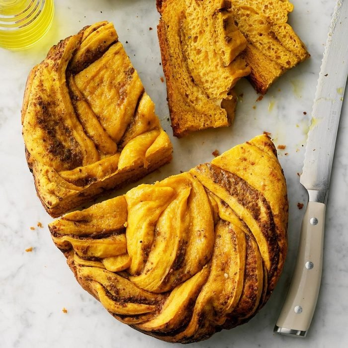 Slow cooker bread recipes you have to try - sweet potato and pesto bread