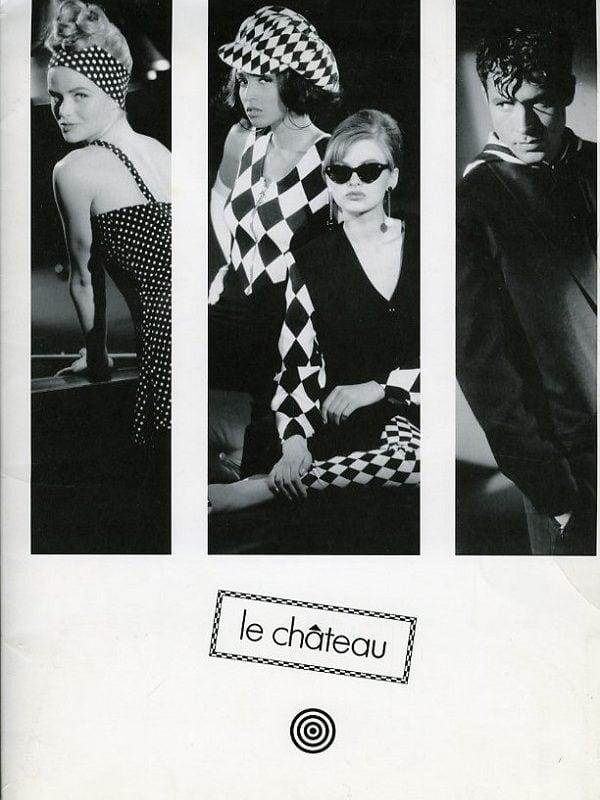 Le Chateau - Vintage campaign