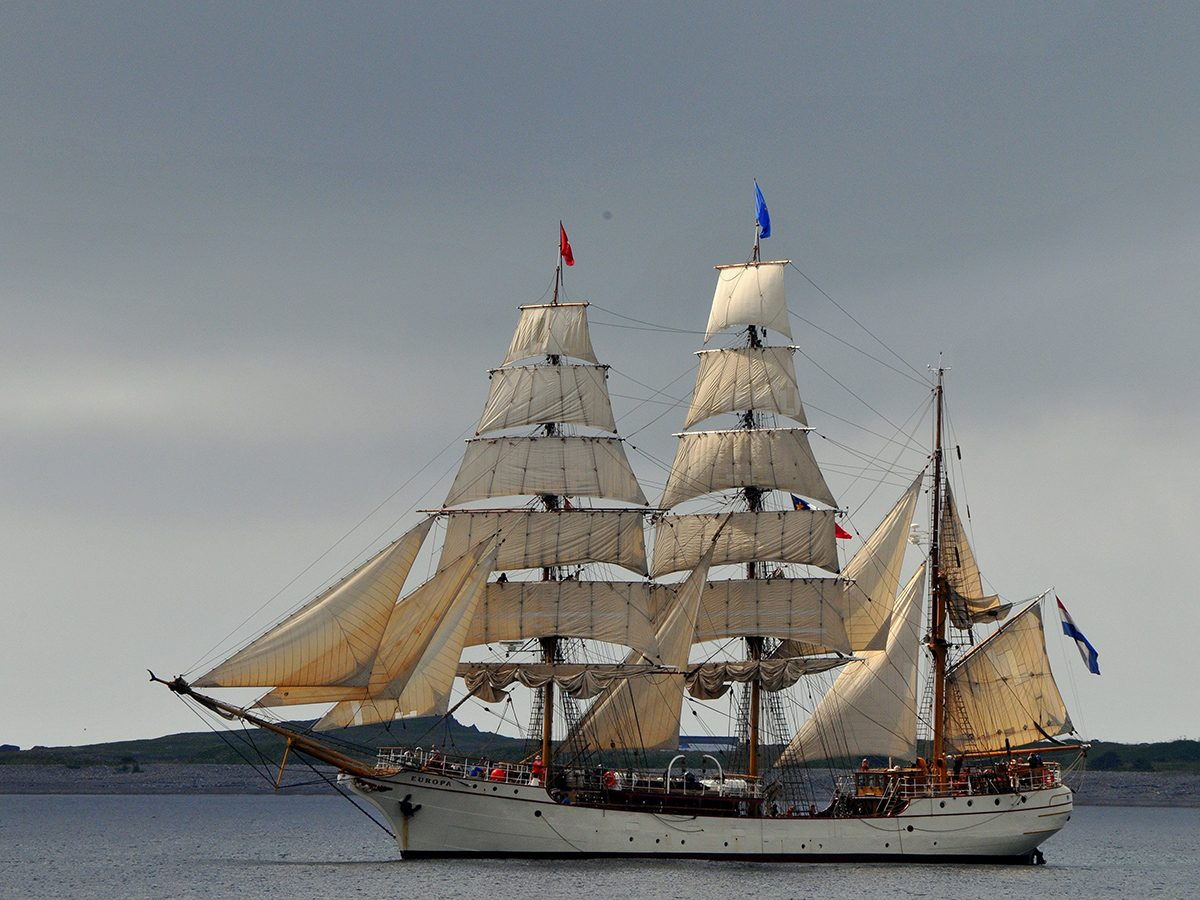 Best boat photography across Canada - Tall ships sailing