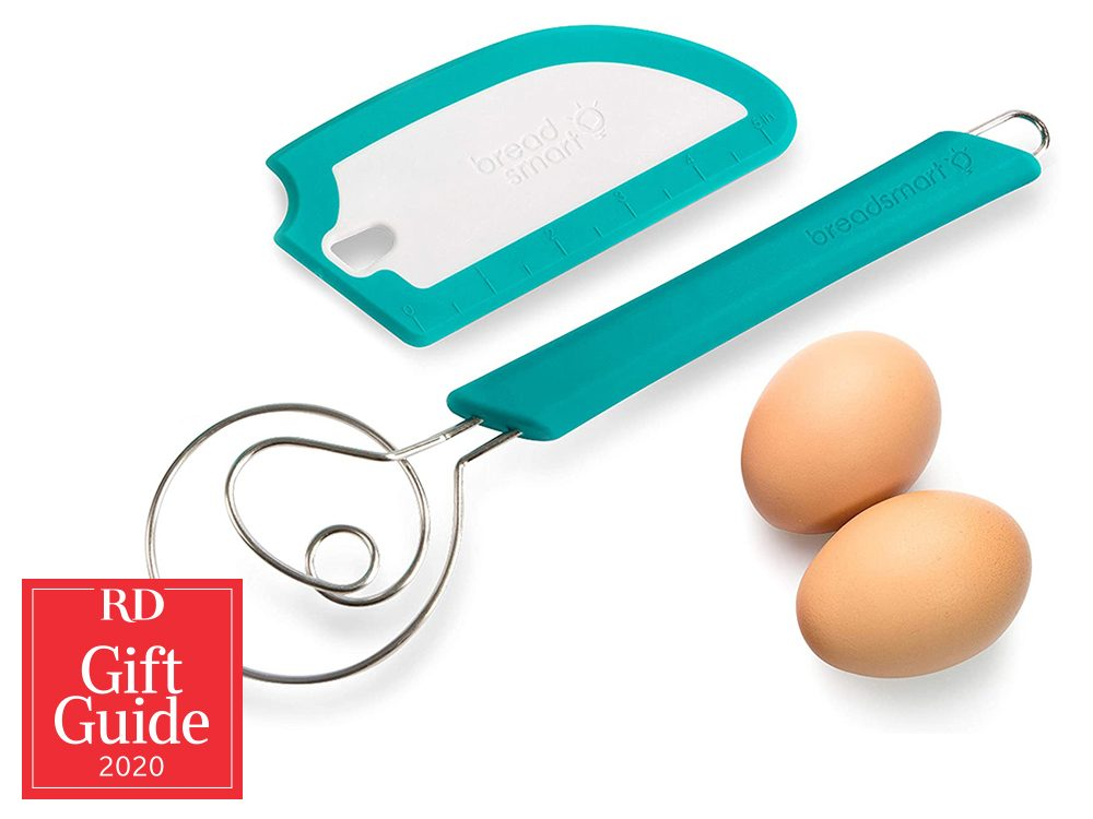 Canadian gifts - holiday gift guide - bread whisk and scraper