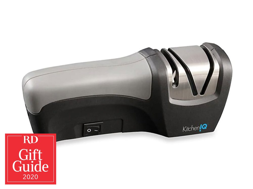 Canadian gifts - holiday gift guide - Kitchen IQ knife sharpener
