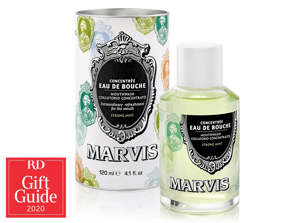 Canadian gifts - holiday gift guide - Marvis alcohol-free mouthwash