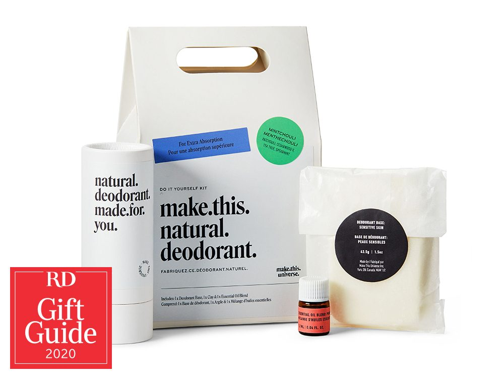 Canadian gifts - holiday gift guide - Make This Natural Deodorant, One of a Kind Show