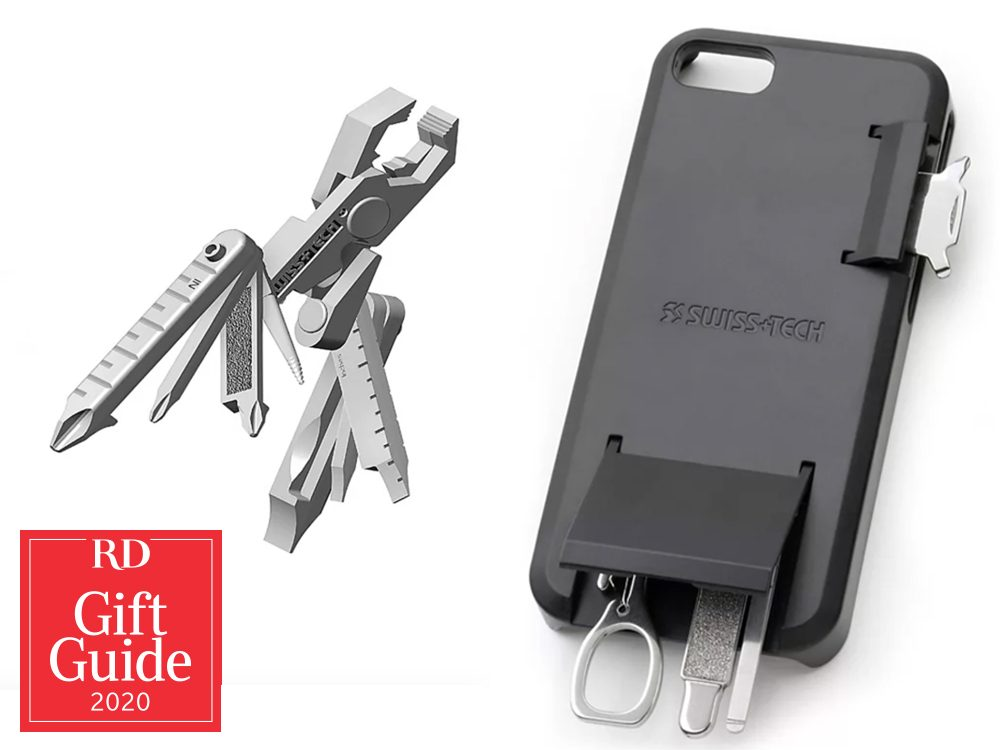 Canadian gifts - holiday gift guide - Swiss-Tech phone case tool kit
