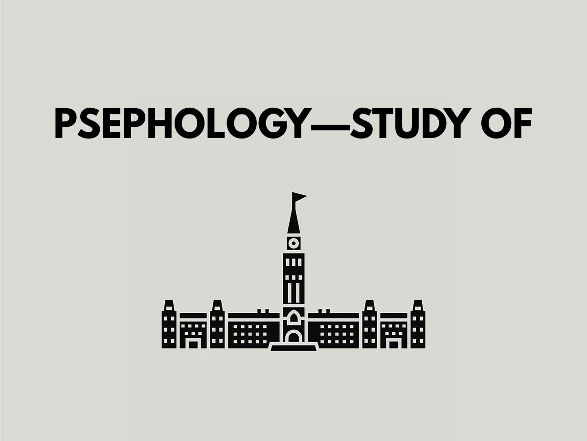 Election terms: Psephology