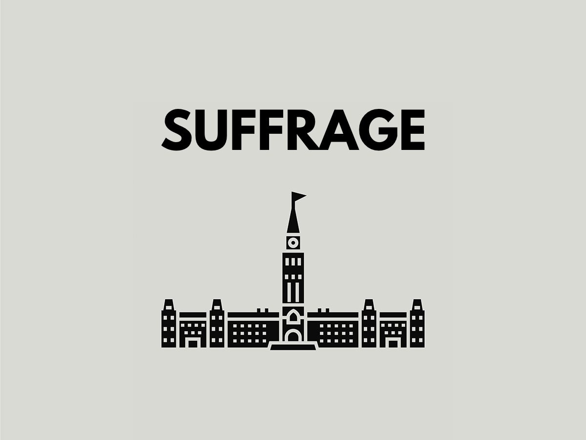 Election terms: Suffrage
