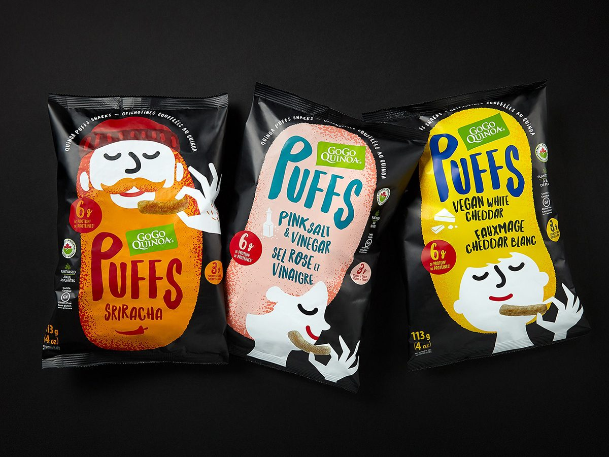 Amazon Prime Day 2020 in Canada Best Deals - Go Go Quinoa puff snacks