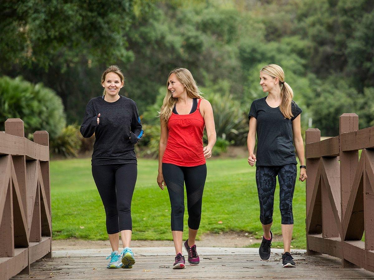 Health news - women exercising outdoors