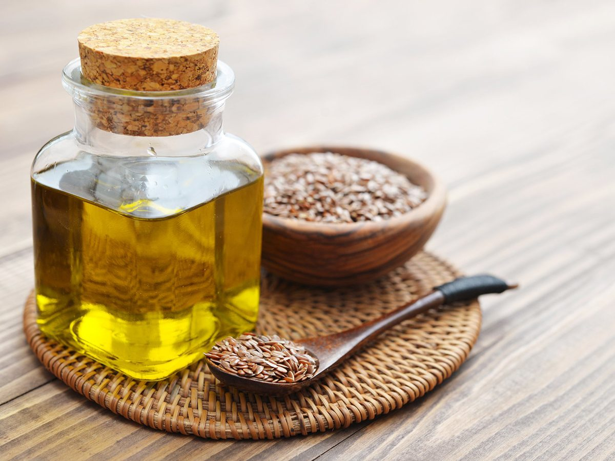 Healthiest cooking oil - Flax seeds and oil