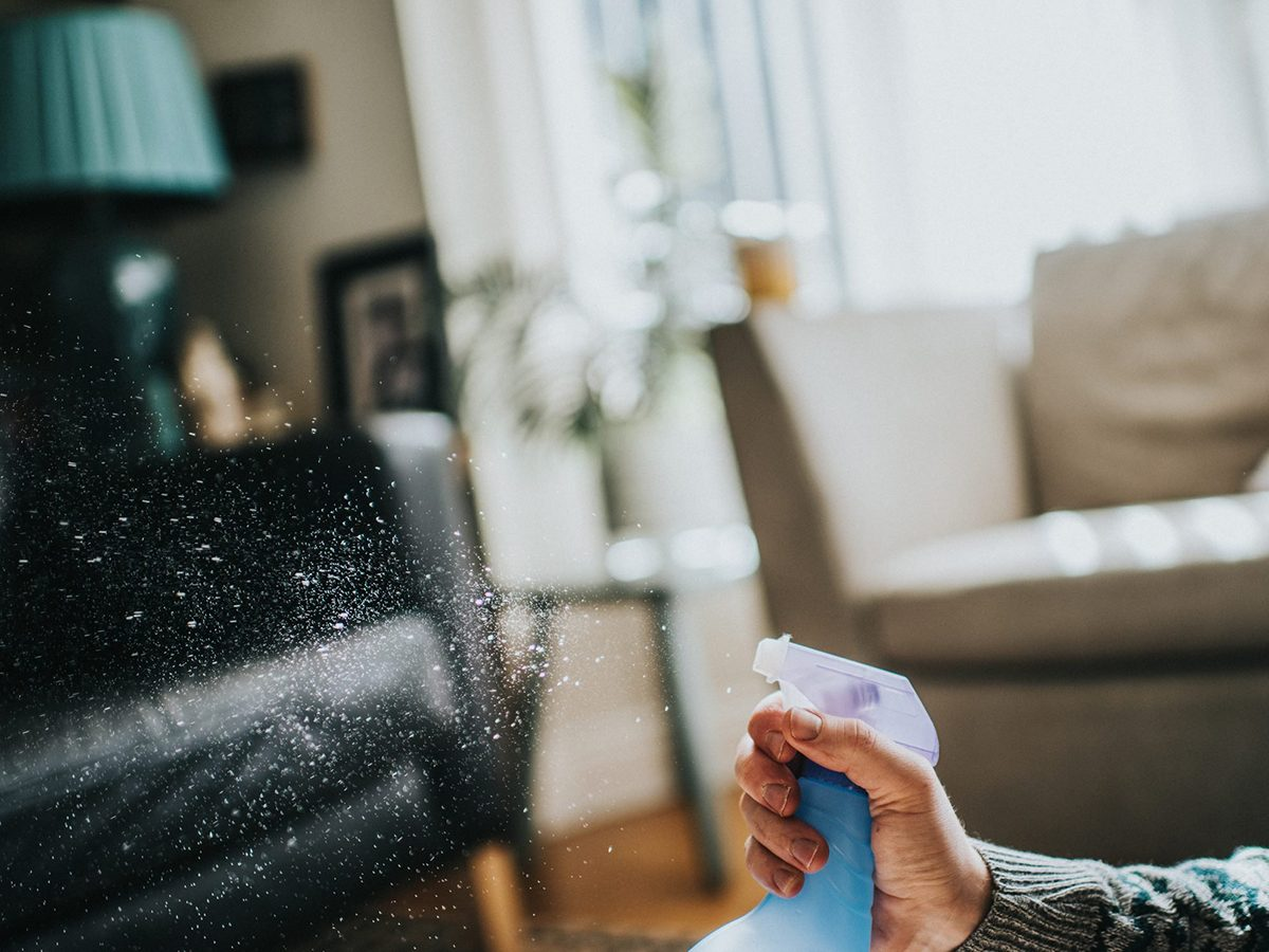 Mistakes you're making with disinfectant - Air / furniture freshener