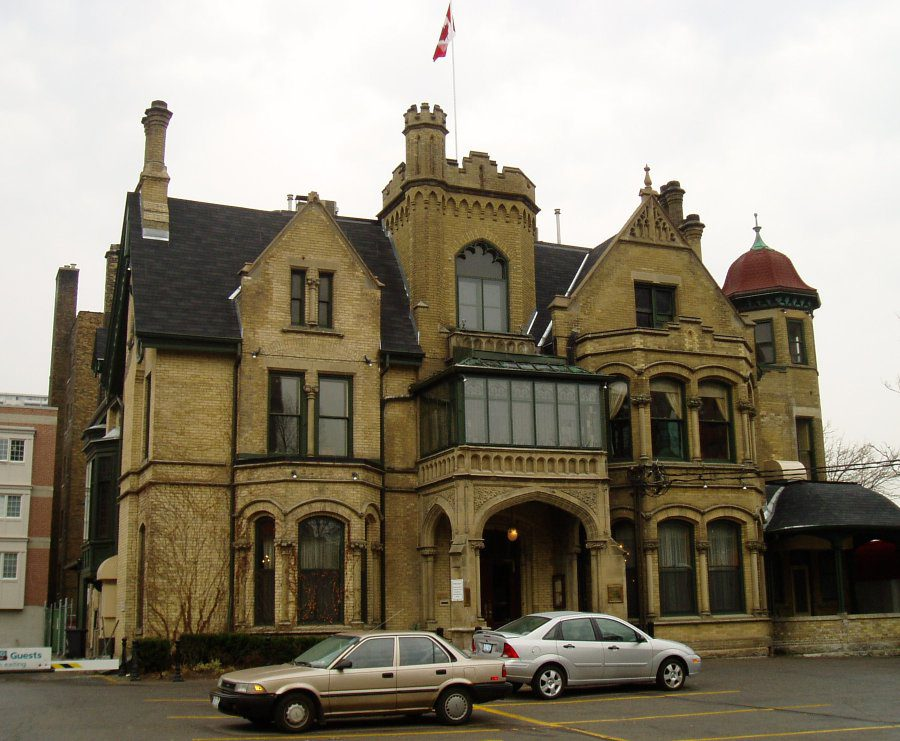 Most haunted places in Canada - Keg Mansion Toronto
