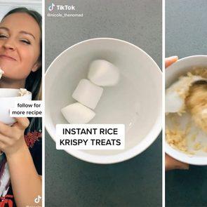 Instant rice krispies recipe