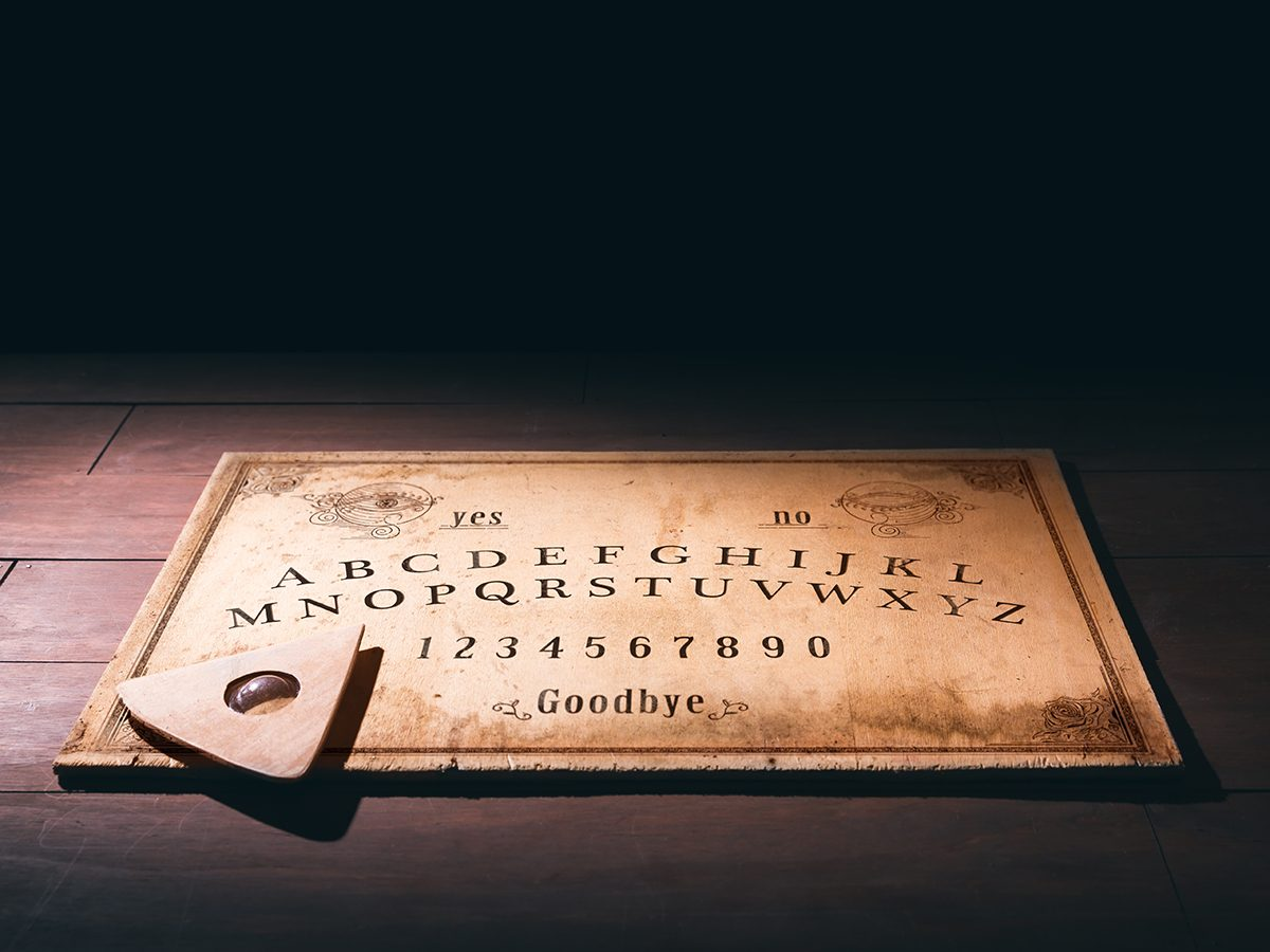 What to do on Halloween during COVID-19 - ouija board