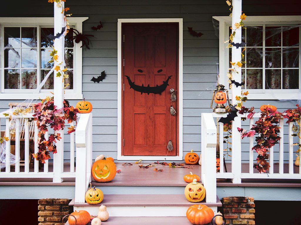 What to do on Halloween during COVID-19 - Halloween house decorations