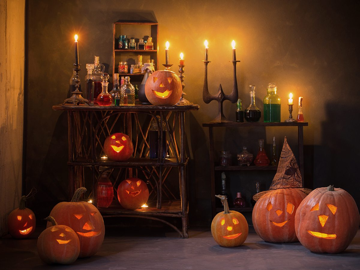 What to do on Halloween during COVID-19 - haunted house makeover