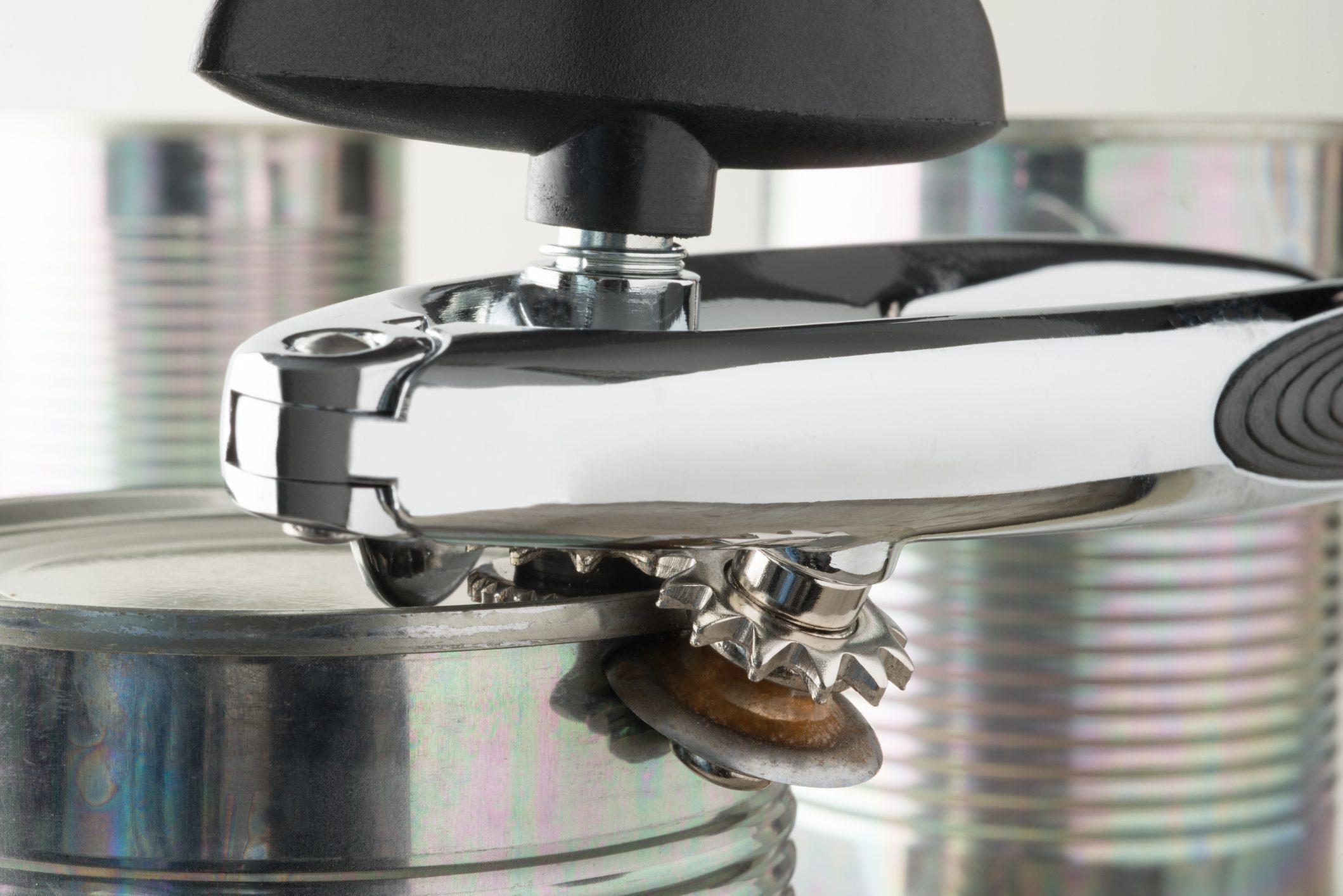 Closeup of a Side Can Opener