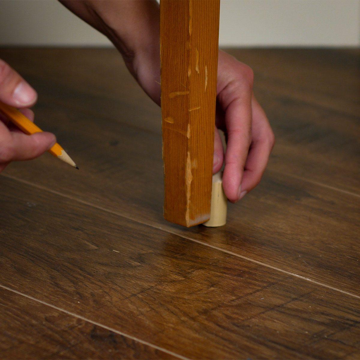 measure amount of cork needed