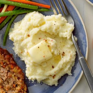Mashed Garlic Potatoes