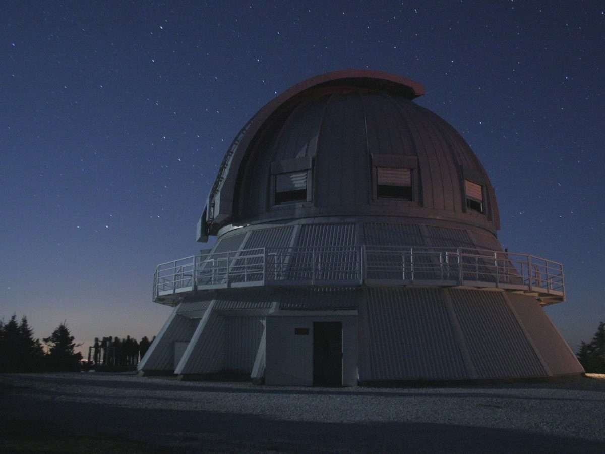 Best places for stargazing across Canada - Mont Megantic Observatory, Quebec