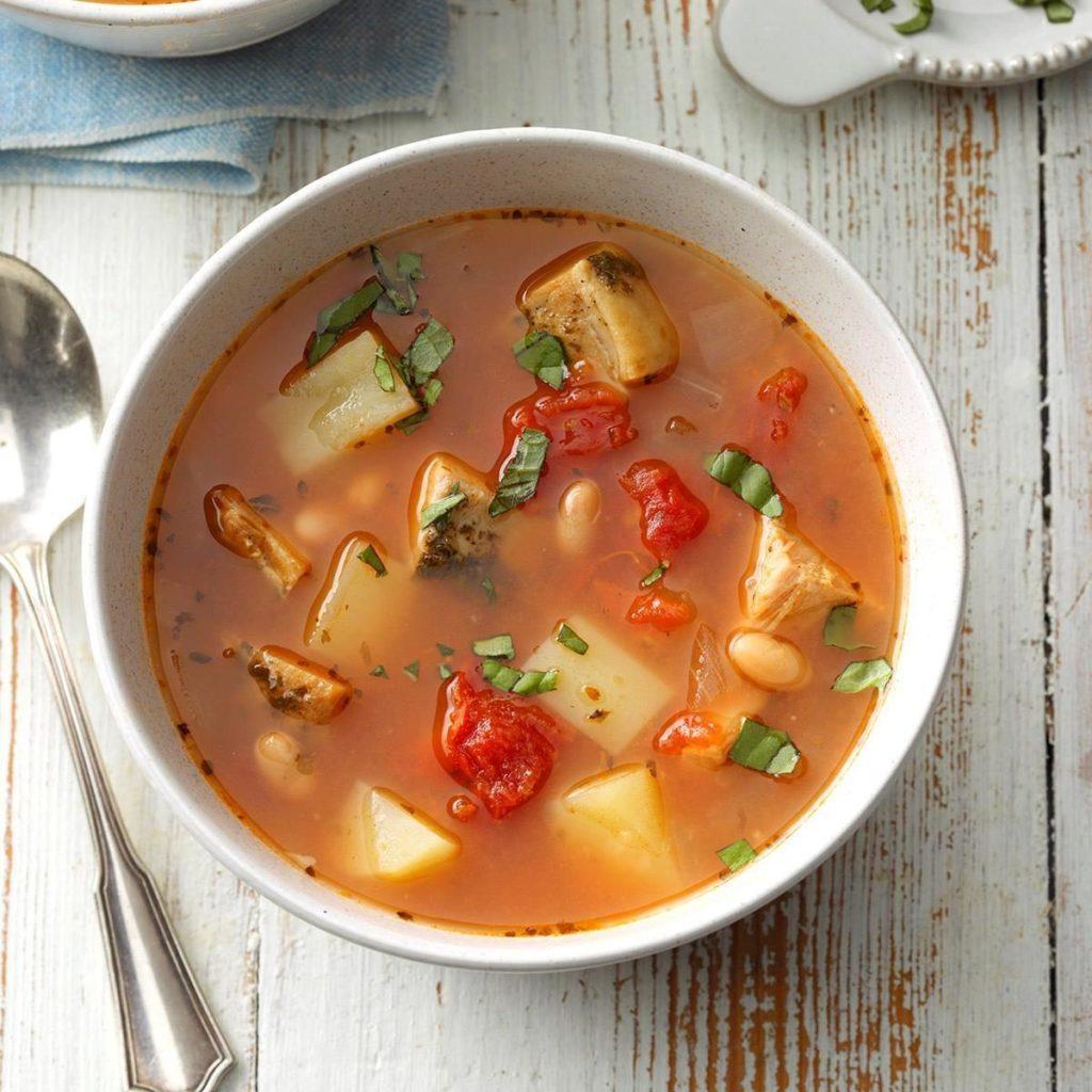 Roast pork soup recipe