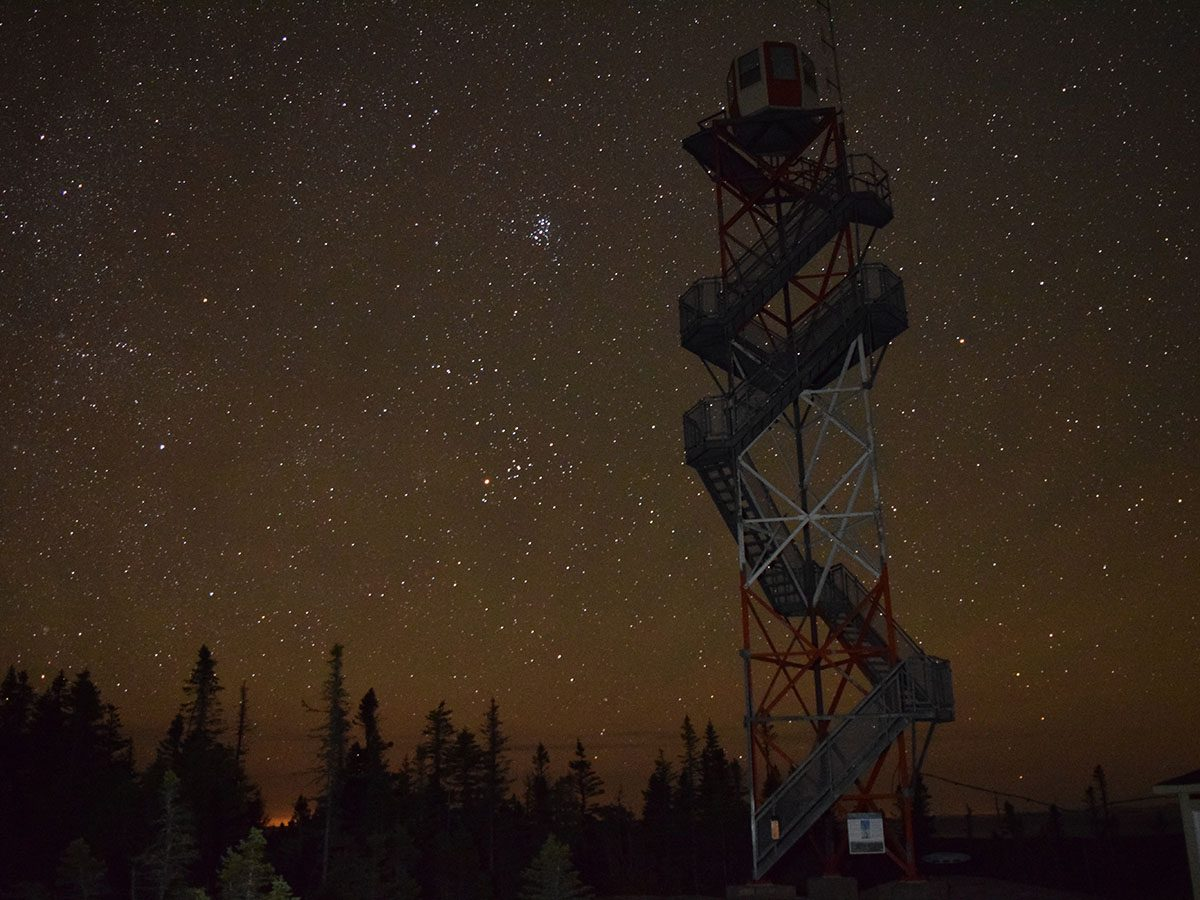 Best places for stargazing across Canada - Terra Nova National Park, Newfoundland and Labrador