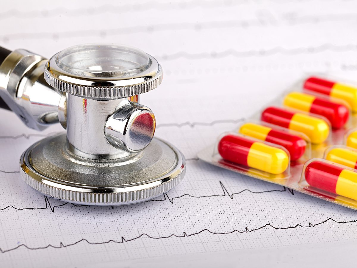 Blood pressure drugs - drug interactions with supplements