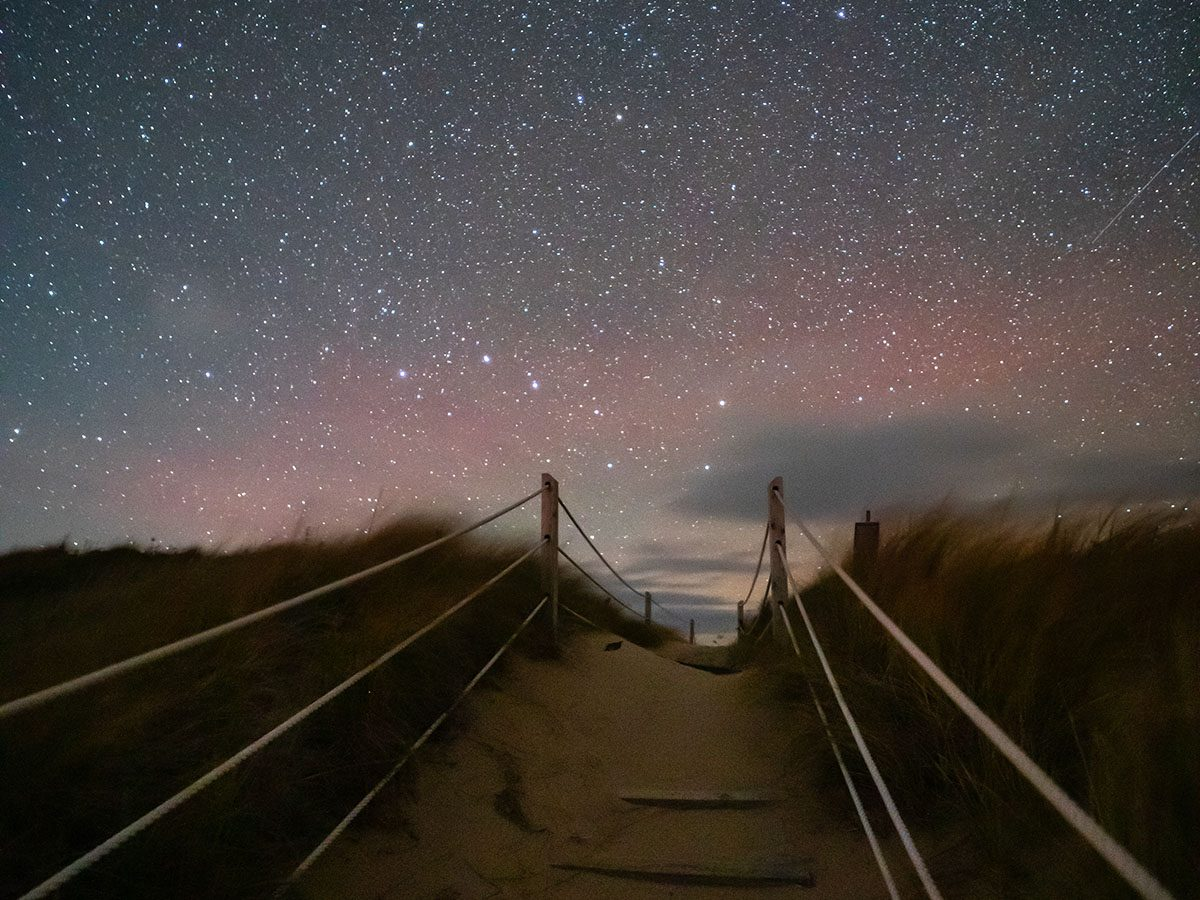 Best places for stargazing across Canada - Cavendish Beach, Prince Edward Island
