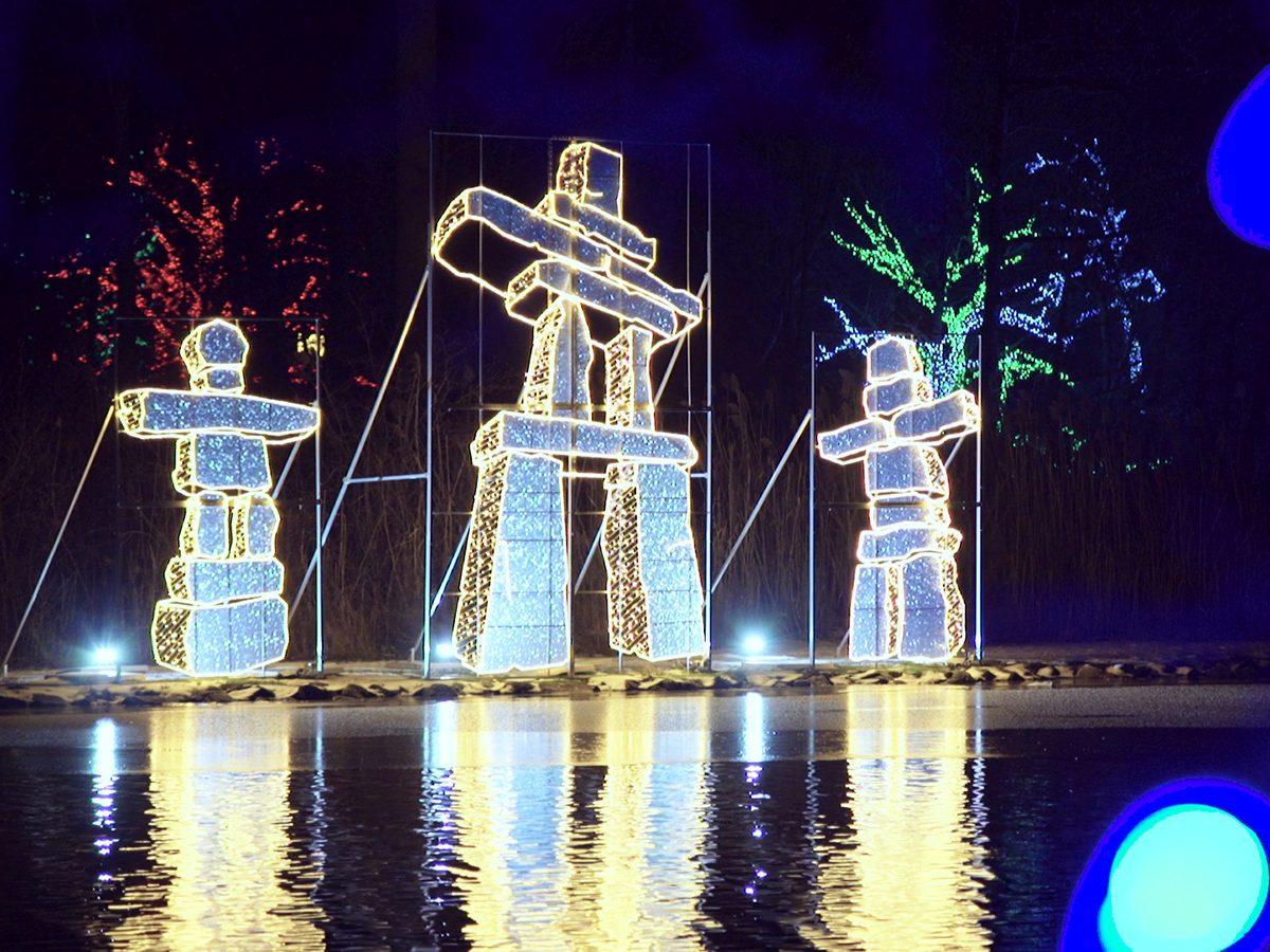 Ontario Power Generation Festival of Lights in Niagara Falls