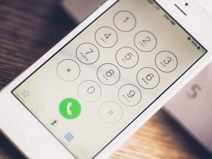 4 Things Hackers Can Do with Just Your Cell Phone Number - Phone screen