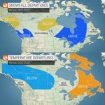 Here's the Winter Forecast Across Canada, According to AccuWeather