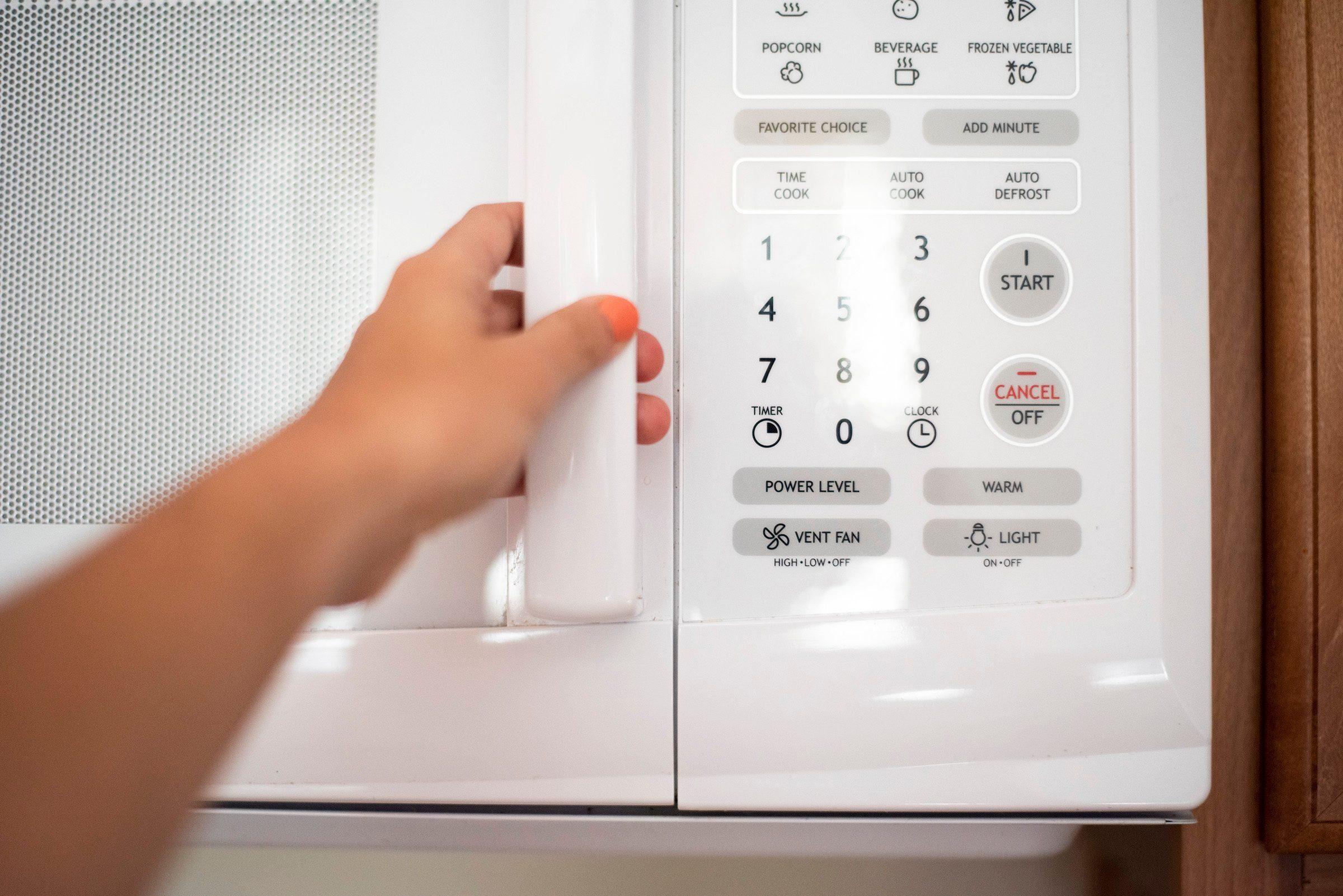 slam microwave door