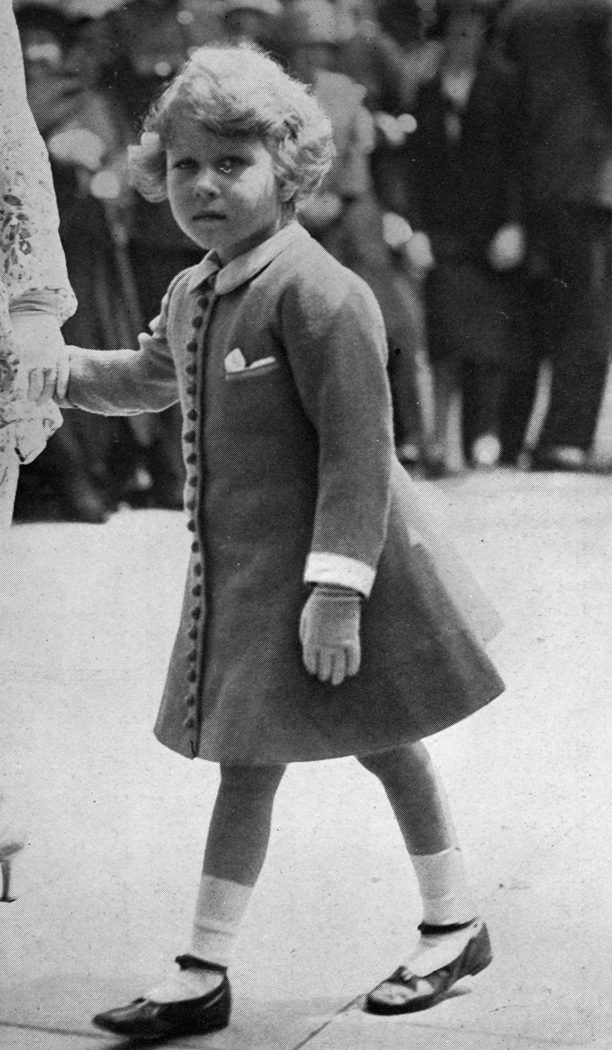 The Young Princess Elizabeth at the Trooping of the Colour 1931
